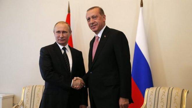 Συνάντηση την Τρίτη Β. Πούτιν με Τ. Ερντογάν