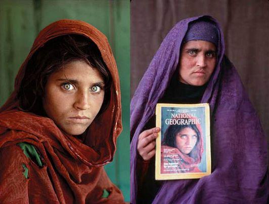 Αποφυλακίζεται με εγγύηση η Αφγανή με τα πράσινα μάτια