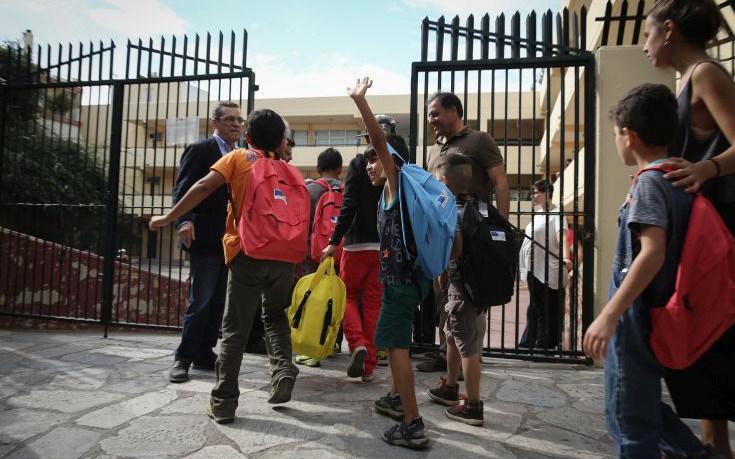 Μόλις 13 μαθητές από τους 130 πήγαν στο σχολείο λόγω των προσφυγόπουλων