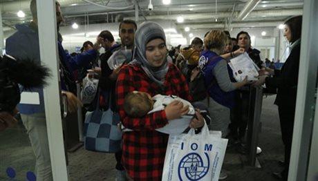 Περίπου 5.500 οι μετεγκαταστάσεις από την Ελλάδα σε χώρες της ΕΕ