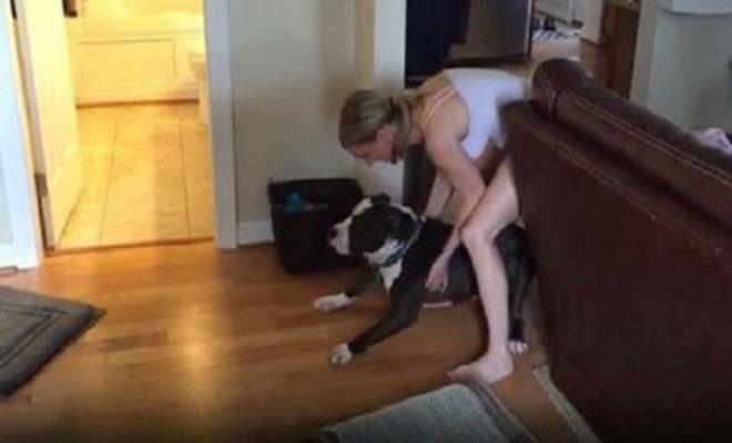 Αυτή ήταν η αντίδραση του σκύλου την στιγμή που έπρεπε να μπει για μπάνιο [Βίντεο]
