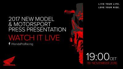 Σήμερα η συνέντευξη τύπου της Honda moto στο Μιλάνο σε live streaming