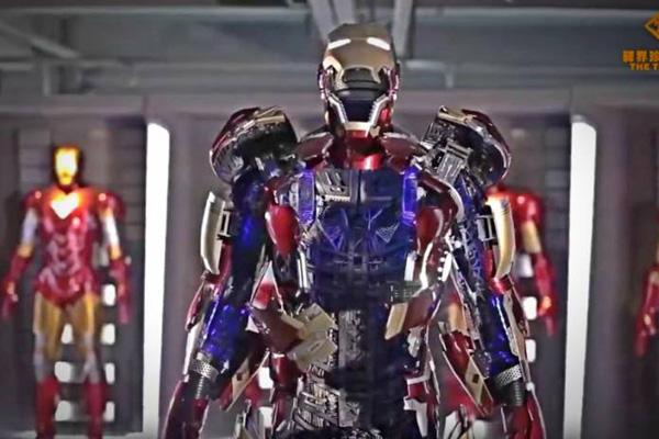 Κινεζική εταιρεία παιχνιδιών έφτιαξε την στολή του Iron Man