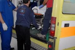 36χρονος υπάλληλος συνεργείου καταπλακώθηκε από λεωφορείο