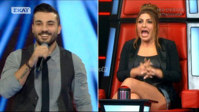 The Voice: Η Έλενα Παπαρίζου δεν αναγνώρισε τον συνθέτη τραγουδιού της! Έπαθε σοκ!