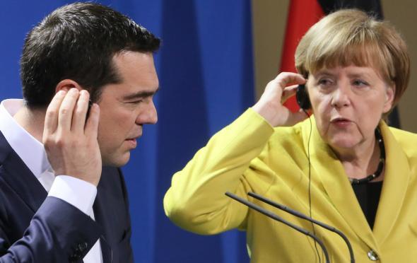 Η Μέρκελ στον Τσίπρα: Μην κάνετε πράγματα χωρίς να ρωτάτε