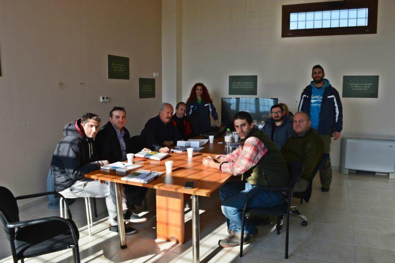 Συνάντηση του Φορέα Διαχείρισης της Κάρλας με την Περιβαλλοντική