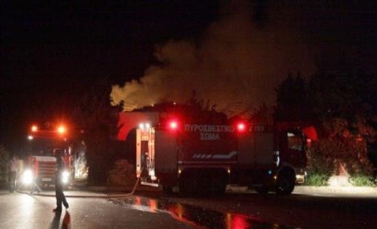Φωτιά στο γηροκομείο Χανίων – Τραυματίστηκε ηλικιωμένος