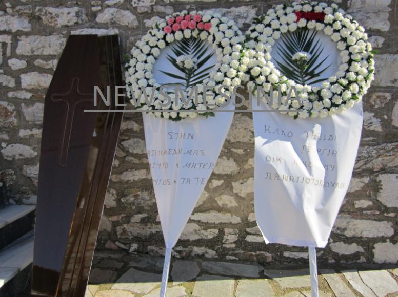 Βουβός πόνος στην κηδεία της 35χρονης μητέρας από την Μεσσηνία! Εικόνες σπαραγμού από το «τελευταίο αντίο»!
