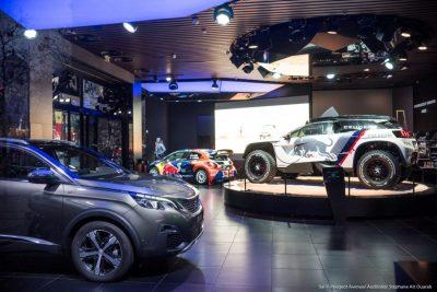 Η διάσημη έκθεση Peugeot Avenue φιλοξενεί το  3008 DKR