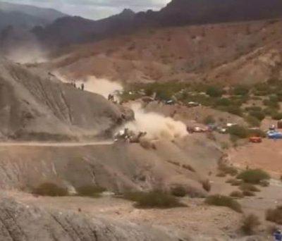 Το φοβερό ατύχημα του Κάρλος Σάινθ στο Ντακάρ (ΒΙΝΤΕΟ)