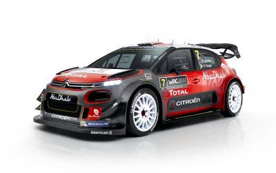 Tο Νέο Citroen C3 WRC στη μάχη του παγκοσμίου πρωταθλήματος ράλι για το 2017!