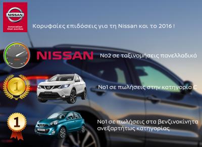 Με infographic, η Nissan αποτυπώνει τη διαδρομή της στη χρονιά που πέρασε