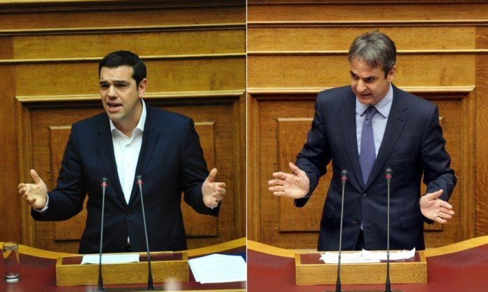 Σύγκρουση πολιτικών αρχηγών στην Ολομέλεια της Βουλής (ΔΕΙΤΕ ΖΩΝΤΑΝΑ)