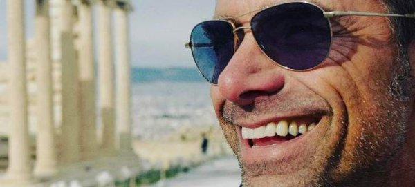 Στην Ελλάδα ο ηθοποιός Τζον Στάμος -Ποστάρει ασταμάτητα φωτογραφίες (φωτό)