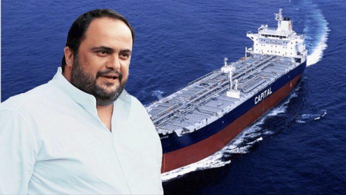 Μαρινάκης: Παρέλαβε το νεότευκτο δεξαμενόπλοιο «Aristaios»