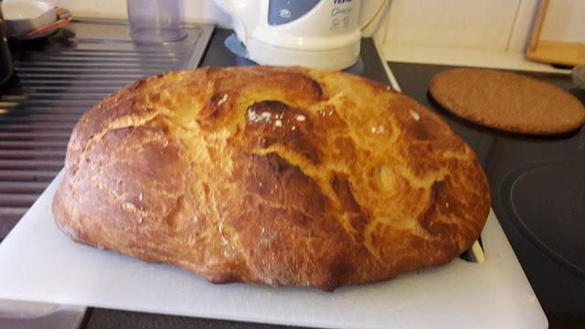 Ψωμάκι χωρίς ζύμωμα !!!