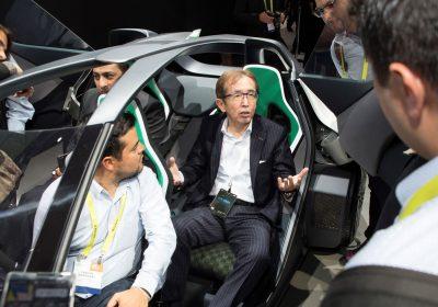 O CEO της Nissan αποκαλύπτει πρωτοποριακές τεχνολογίες στην Έκθεση CES 2017