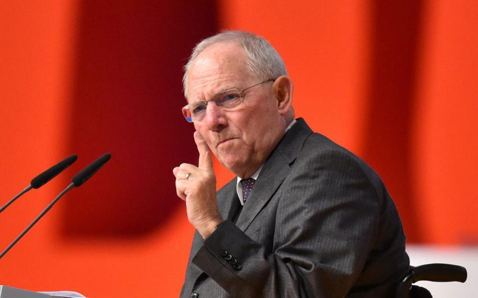 Βερολίνο: Οι δηλώσεις Σόιμπλε αφορούν το τρέχον μνημόνιο