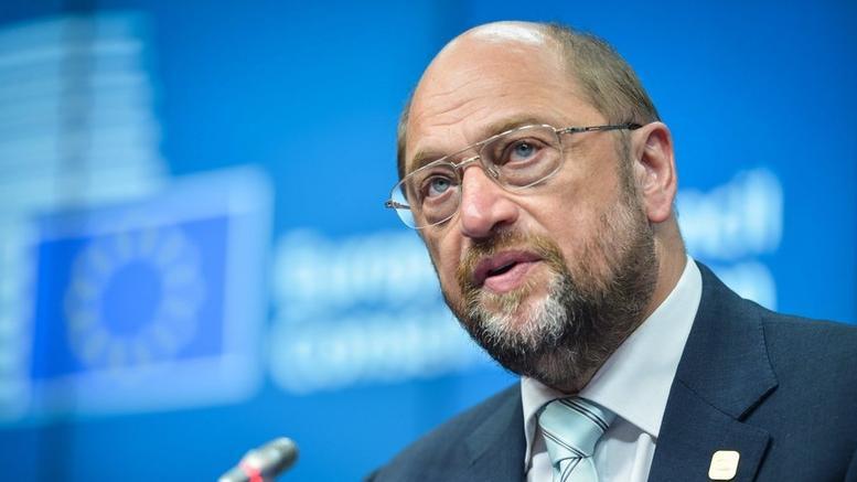 Mάρτιν Σουλτς: Επικίνδυνη φλυαρία το Grexit