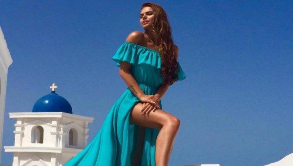 Πριν αρχίσει να κρέμεται στους ουρανοξύστες η Viki Odintcova εξυμνούσε τις ομορφιές της Ελλάδας (φωτό)
