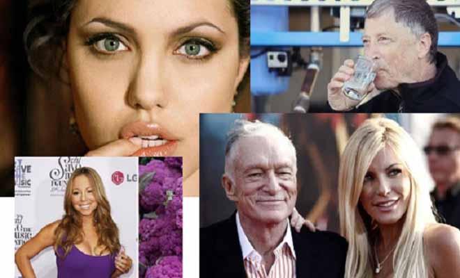 Τα ΠΕΡΙΕΡΓΑ των σταρς: Ο Bill Gates πίνει νερό από το βόθρο, η Αντζελίνα Τζολί δεν θα πιστεύεις τι κάνει… Δείτε τους!