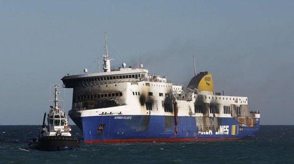 Ανθρώπινο λάθος δείχνουν οι έρευνες για το ναυάγιo του «Norman Atlantic»