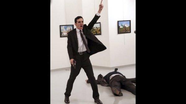 Στη φωτογραφία του δολοφόνου του Ρώσου πρέσβη το πρώτο βραβείο World Press Photo