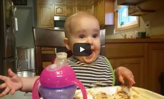 Όχι δεν είναι εφέ! Το γέλιο ενός μωρού που έχει γίνει viral στο διαδίκτυο! [Βίντεο]