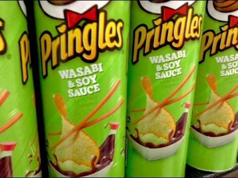 Στην Ιαπωνία υπάρχουν άλλες 13 γεύσεις Pringles (εικόνες)