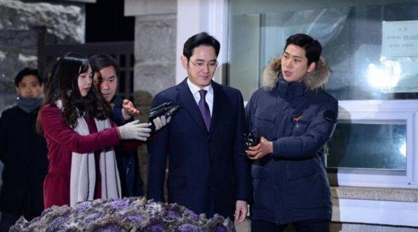 Στη φυλακή ο επικεφαλής της Samsung