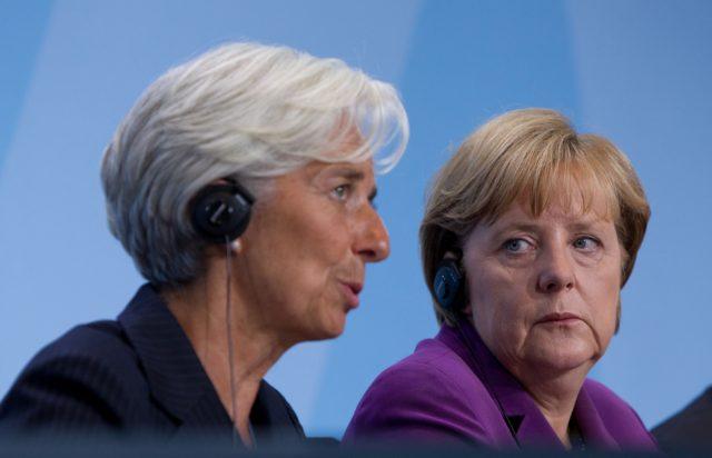 Κρίσιμη συνάντηση Μέρκελ – Λαγκάρντ στο Βερολίνο