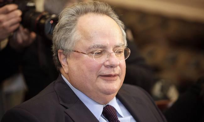 Στη Λευκωσία ο υπουργός Εξωτερικών Νίκος Κοτζιάς