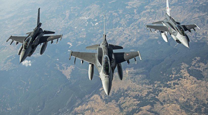 Η Τουρκία ανεβάζει την ένταση: Συνολικά 37 παραβιάσεις στο Αιγαίο την Τρίτη