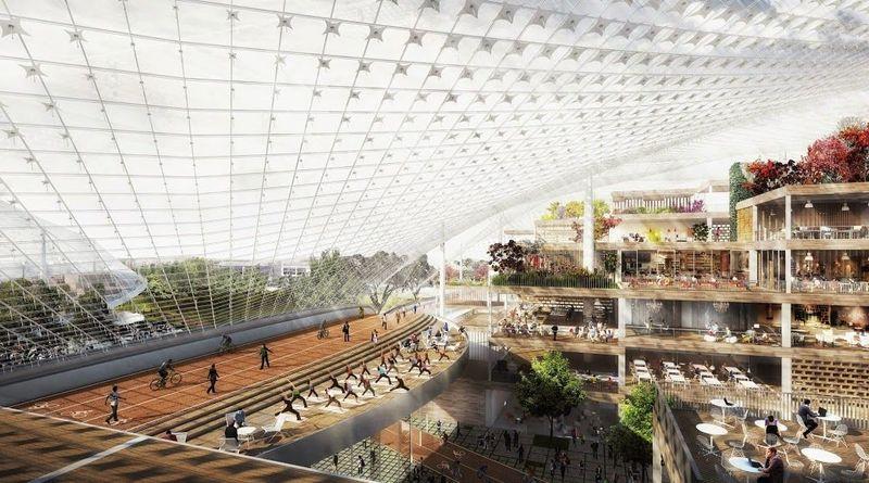 Τα απίστευτα νέα γραφεία της Google (ΕΙΚΟΝΕΣ)