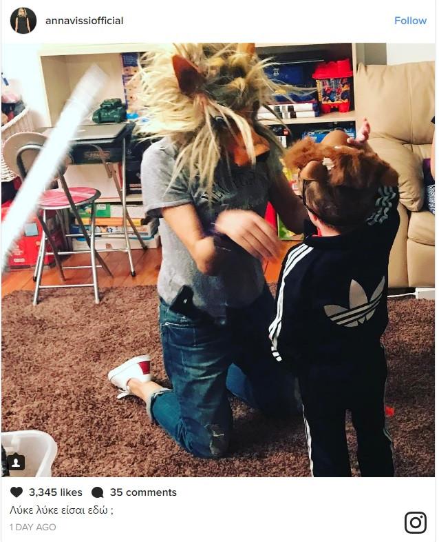 H… γιαγιά Άννα Βίσση όπως δεν την έχετε ξαναδεί: Το ξέφρενο παιχνίδι με τους εγγονούς της (φωτό)