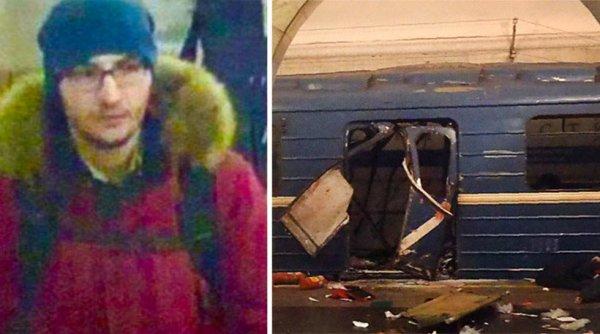 Φωτογραφίες από το βαγόνι του μετρό στην Αγία Πετρούπολη – Από το Καζακστάν ο βομβιστής αυτοκτονίας