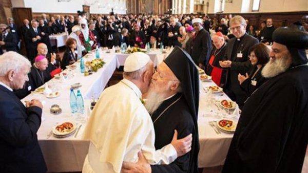 Μαζί στην Αίγυπτο ο Πατριάρχης Βαρθολομαίος και ο Πάπας Φραγκίσκος
