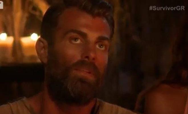Survivor: Δείτε την αντίδραση του Χανταμπάκη όταν έμαθε ότι αποχωρεί από το παιχνίδι [Βίντεο]