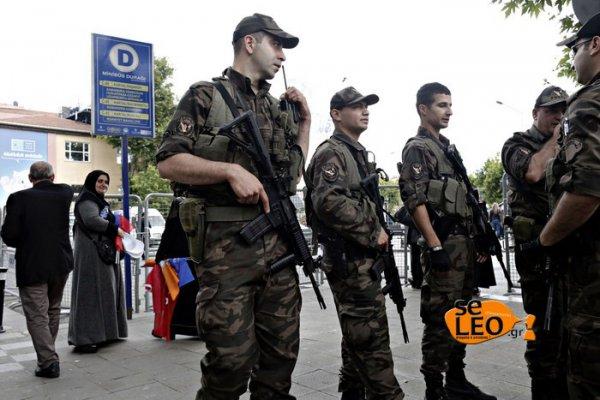 Έλληνας ακτιβιστής συνελήφθη στην Τουρκία (ΦΩΤΟ)
