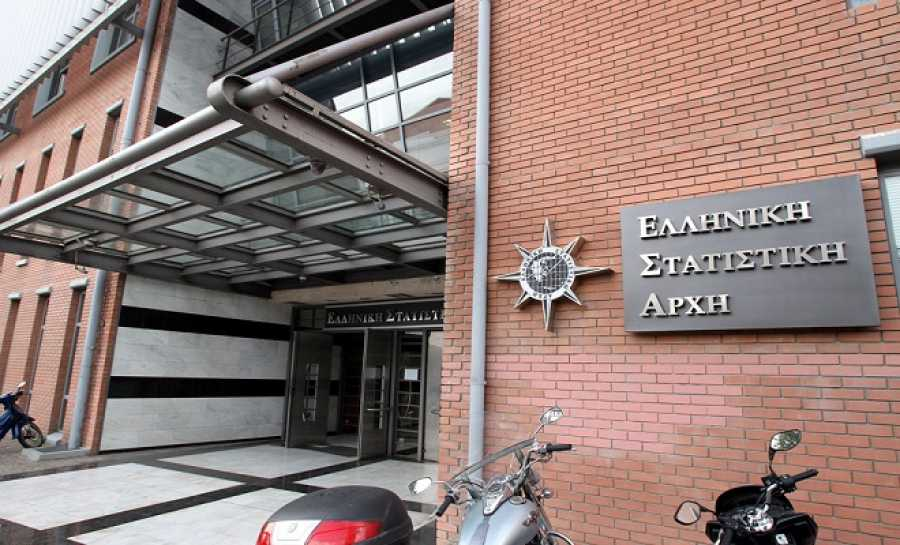 ΕΛΣΤΑΤ: Πρωτογενές πλεόνασμα στο 3,9% του ΑΕΠ για το 2016