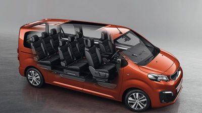 Πρώτη οδηγική εμπειρία του 9θέσιου Peugeot Traveller