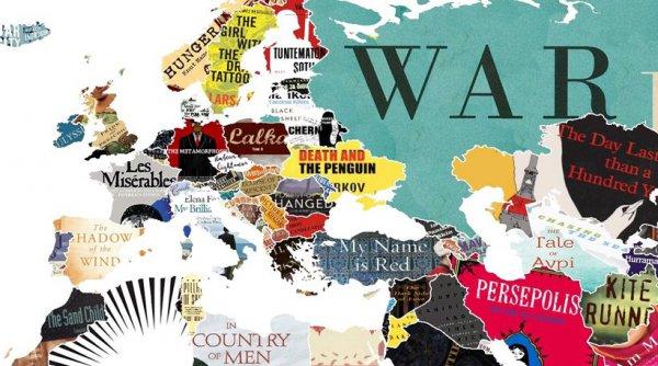 O χάρτης που αποκαλύπτει το πιο σημαντικό βιβλίο σε κάθε χώρα