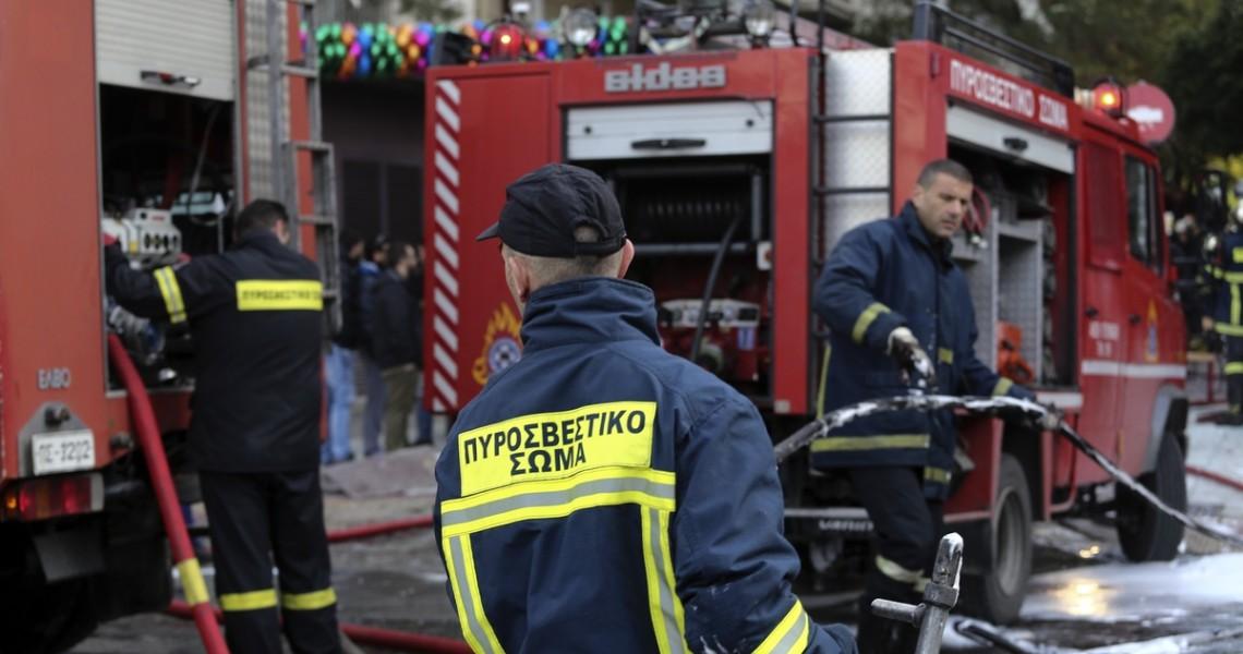 Νεκρή ηλικιωμένη απο πυρκαγιά σε διαμέρισμα στην Αλεξάνδρας
