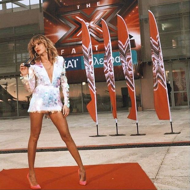 Star Style: H πουά ολόσωμη φόρμα της Τάμτα που μας ξετρέλανε