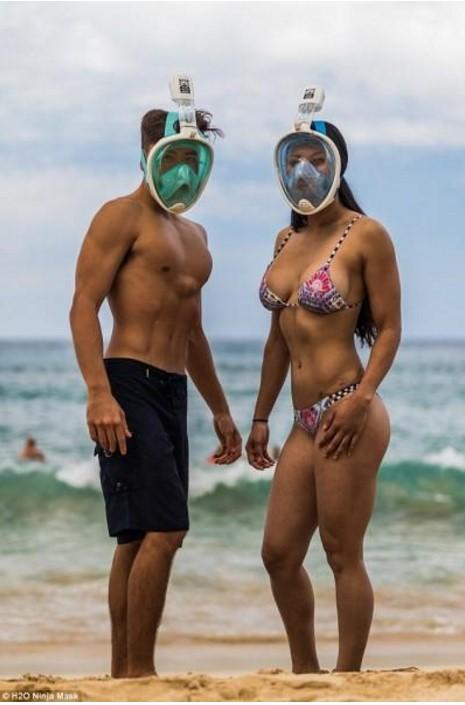 Ξεχάστε ό,τι ξέρατε: Ηρθε η μάσκα θαλάσσης… νίντζα που προκαλεί πάταγο (photos)