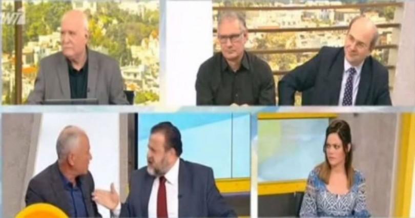 «Πλακώθηκε» ο Κεγκέρογλου με συνταξιούχο στην εκπομπή του Γ. Παπαδάκη – ΒΙΝΤΕΟ