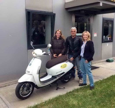 O τρίτος τυχερός που κέρδισε το scooter 125 cc!