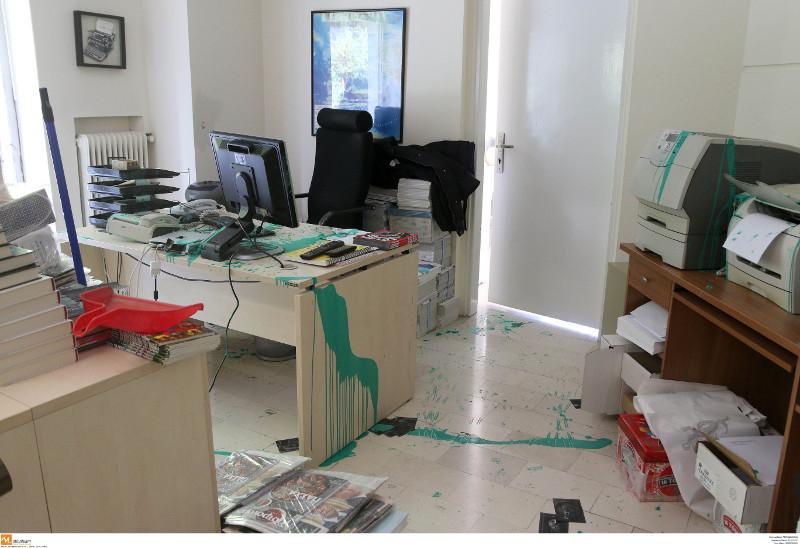 """Θεσσαλονίκη: Άγνωστοι εισέβαλαν στα γραφεία της """"Καθημερινής"""""""
