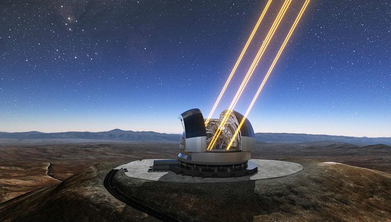 Άρχισε η κατασκευή του μεγαλύτερου τηλεσκοπίου του κόσμου στη Χιλή
